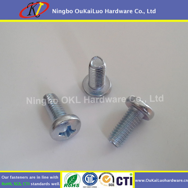 Trilobular Thread rolling tapping screw with RoHS Standards from Ningbo