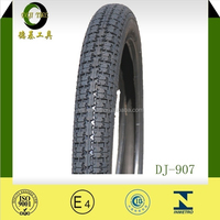 E-MARK certificate china motorcycle tyre 2.25-16