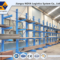 Warehouse Cantilever Racking For Rebar Storage