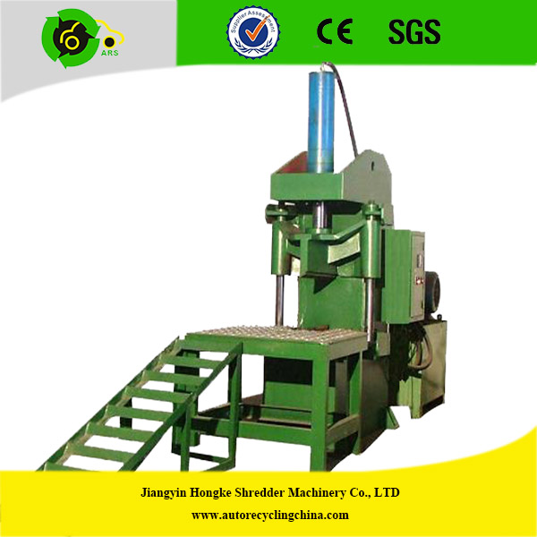 Waste tire recycling equipment tire cutting machine buy for Tractor tire recycling