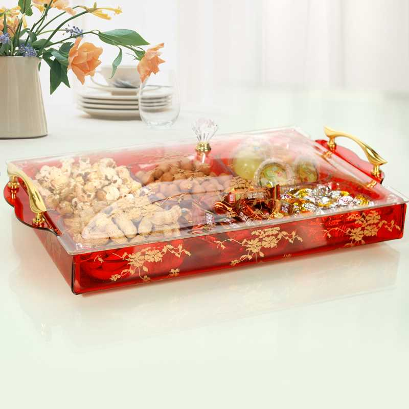 acrylic clear store candy box / acrylic clear fruit tray