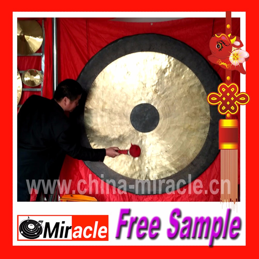 47' inch 120cm High Sound Quality Antique Gong