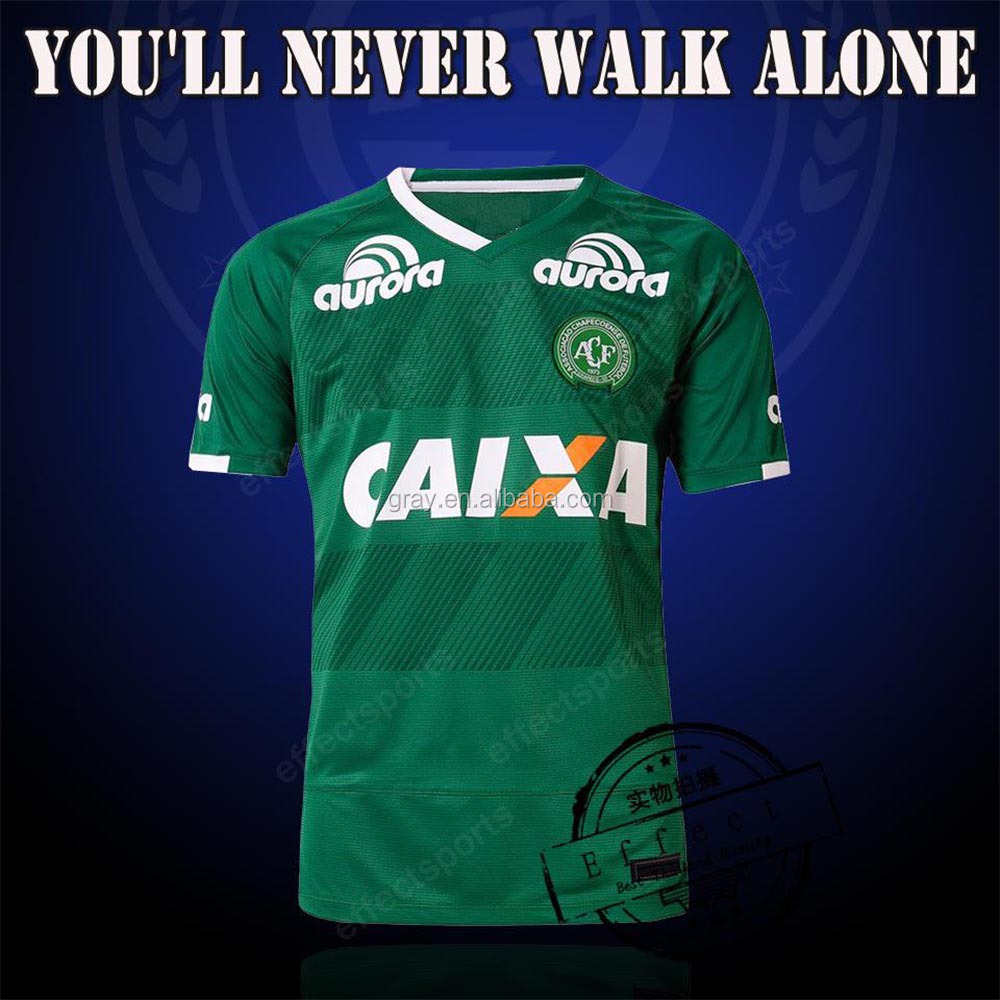 2016 Chapecoense AF SC camisa de futebol brasil club CAMISETAS FUTBOL thai quality soccer jersey <strong>16</strong> 17 Maillot Home Away Third G