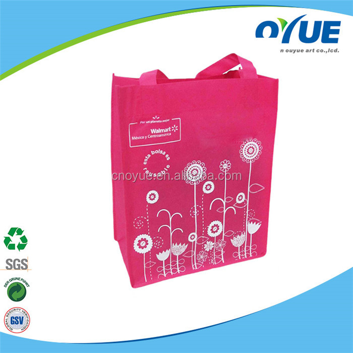 Wholesale cheap custom reusable laminated non-woven shopping bag