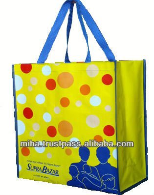 Eco-Promotional PP Woven Shopping Bags