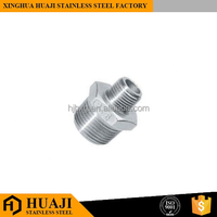 Reducing Hex Nipple stainless steel pipe weight