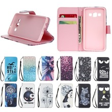 New Arrival Cute pattern TPU +PU leather Wallet Cover Case for Samsung Galaxy A3 , For Samsung A3 Phone case