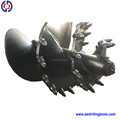 Construction Machine parts Drilling auger ,Earth drill auger for rotary machine