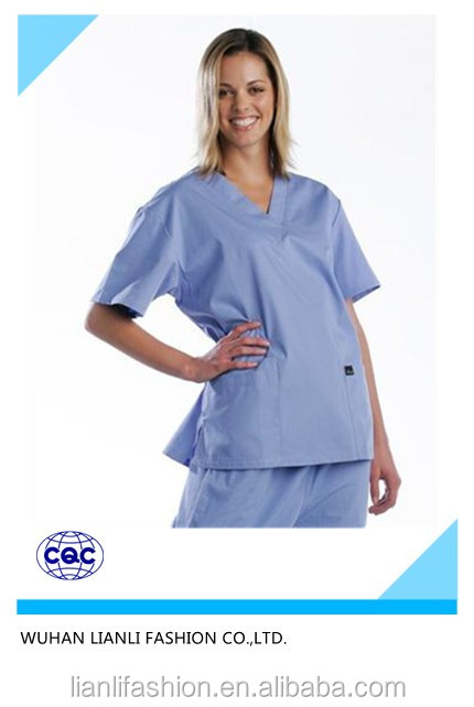 hospital clinic uniform doctor's white gown