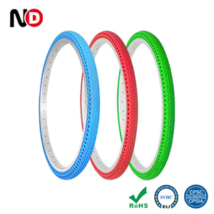 24 x1.5 Inch Airless Flat Free Bike Tire For Bike Sharing