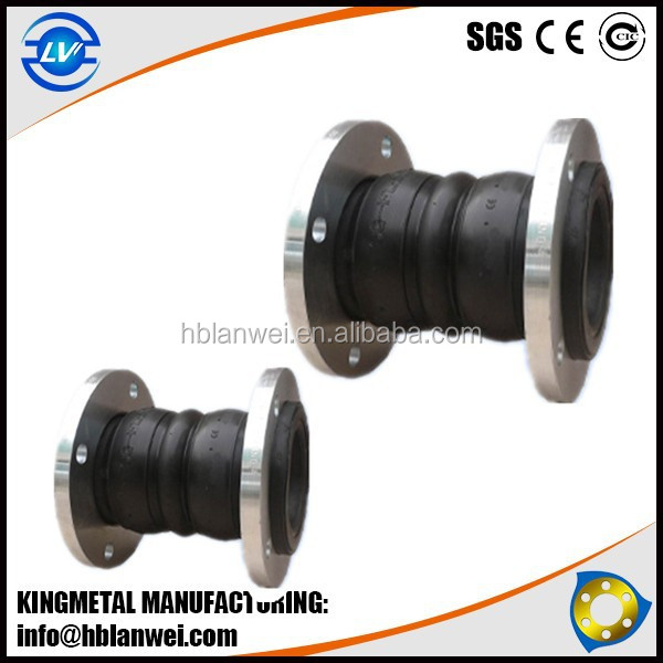 flange Type Double Sphere Flexible Rubber Joint with best price