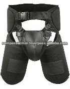 Centurion Thigh & Groin Protection - Black-anti riot gear groin protector