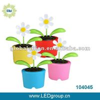 Plastic Solar-Powered Dancing Flowers one euro shop item