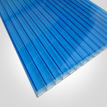 uv protection pc hollow panels ,pc sheet for greenhouse skylights