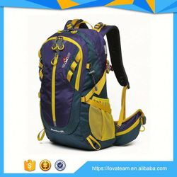 2016 new top cheap Promotional sport wholesale custom hiking backpack fashion hiking bag