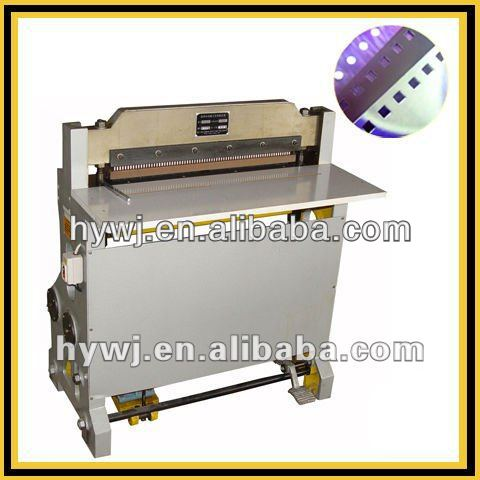 semi automatic punching machine for wire binding