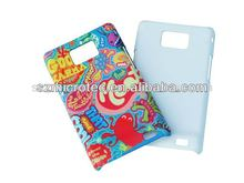 Polymer case MT-S2-3D, 3d stitch case for samsung galaxy s2 i9100