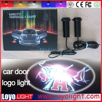 car logos with brand names, promotion led car logo for volkswagen