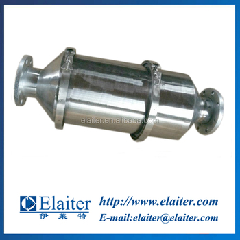 Selective catalytic reduction (SCR) catalytic converter for diesel engine bus