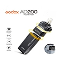 Factory Supply Godox AD200 Photography Strobe Speedlite Lamp Flash Light 200W with TTL Lithium battery For DSLR