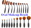 Factory Price Oval Make up Brush Set 10 Pcs, Makeup Set Cosmetic Professional