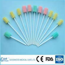 Disposable foam tip swabs/sponge applicator
