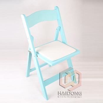 Outdoor Furniture White Color Wooden Folding Beach Chairs