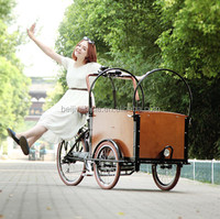 3 wheel bakfiet electric cheapest cargo bike/250w pedal assist electric scooter