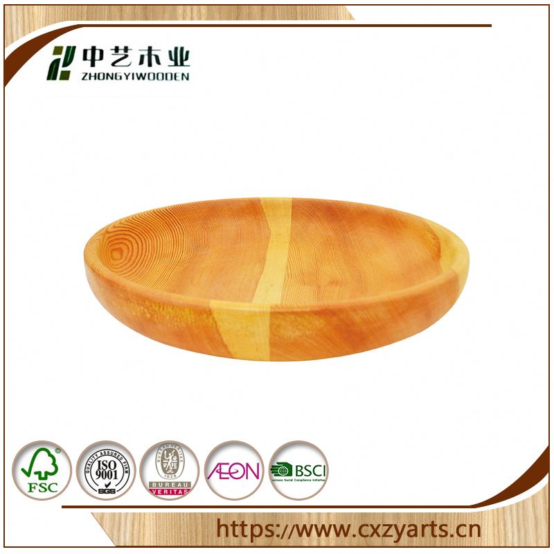 New Design China Factory Wooden Food Tray With Wheel