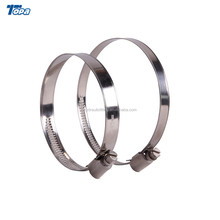 Pipe joint stringing bike ear cropping aluminum hose flange clamp