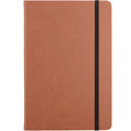 Cheap Promotional Custom Waterproof Brown Leather Notebook