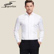 Latest high quality poplin custom formal fashion slim fit solid color shirt men