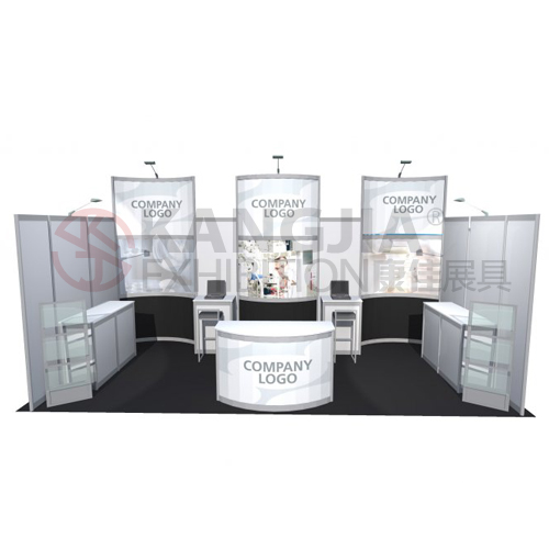 trade show display for watches