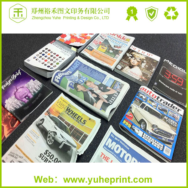 2016 wholesale professional design clear display custom CMYK art paper printing ls magazine models