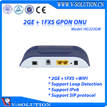 2 Ethernet Port +1 Telephone + WIFI ONU for GPON Support WEB TR069 CLI Management