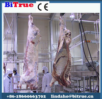 portable automatic beef halal meat slaughterhouse