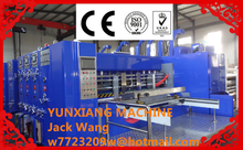 Automatic used corrugated carton box making machine