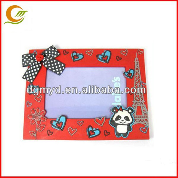 New OEM soft pvc photo frame with reasonable price