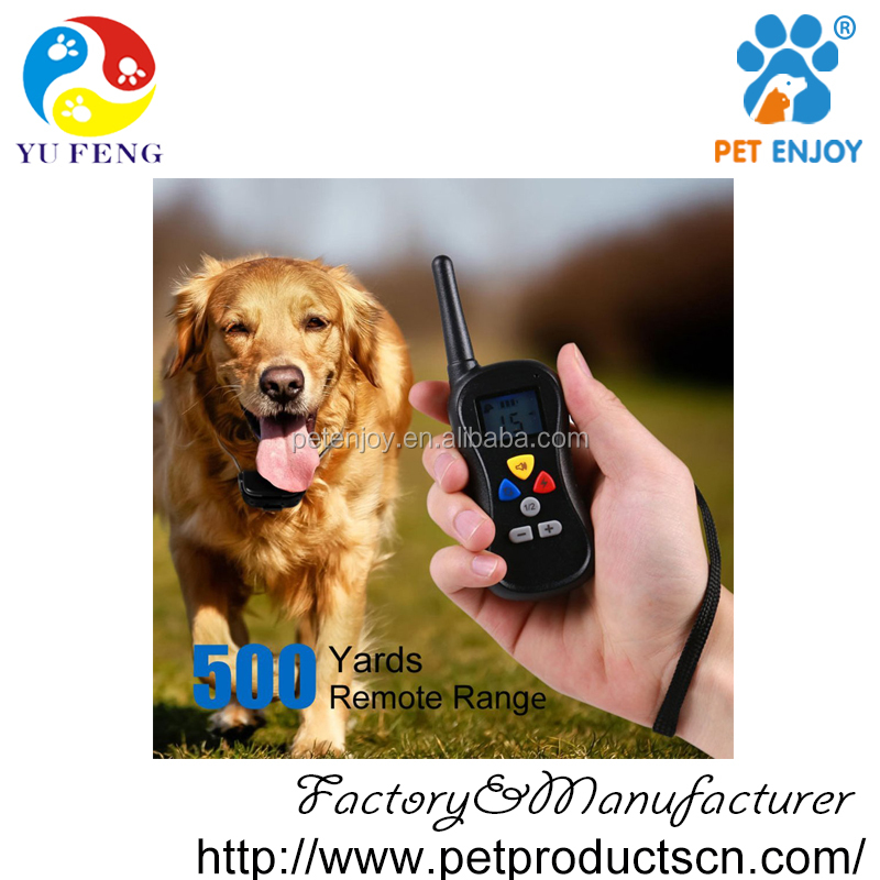 2016 Advance 500 Yard Water Resistant Remote Dog Training E Collar
