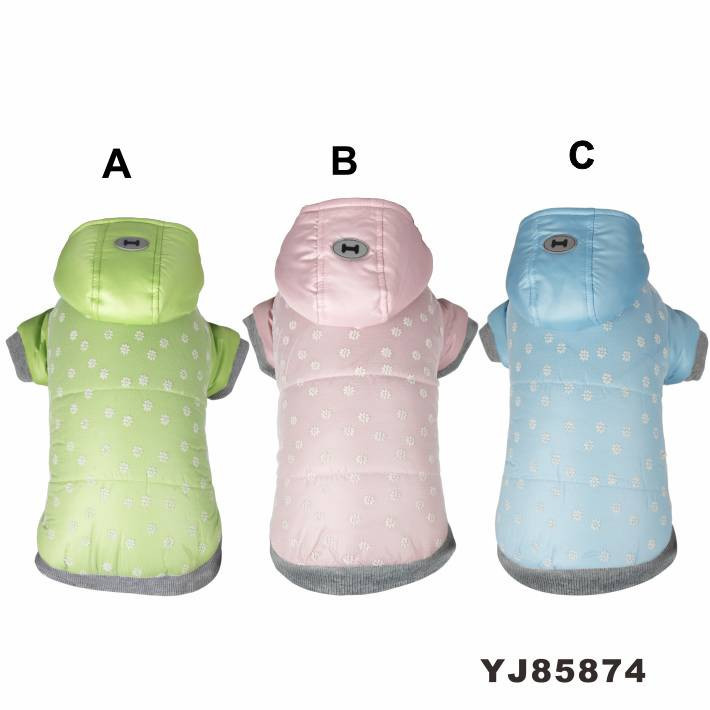 Three Layer Comfortable Warm Dog Hoodie Wholesale