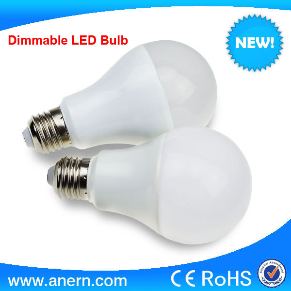 CE RoHS approval high power 6w e27 dimmable led ball bulb