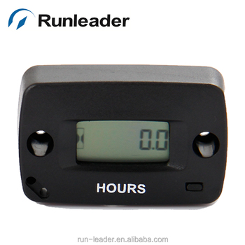 RUN LEADER MOTORCYCLE RESETTABLE HOUR METER