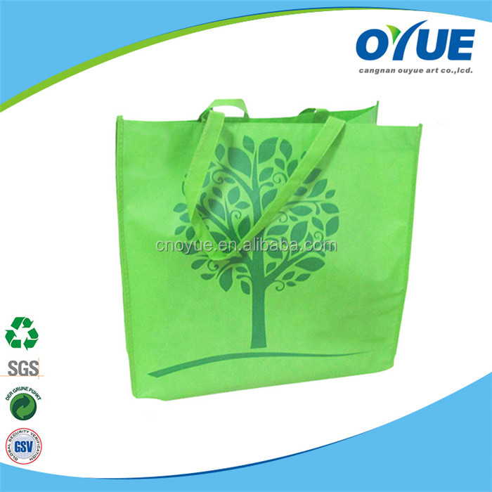 Customized recycle foldable non woven reusable bags