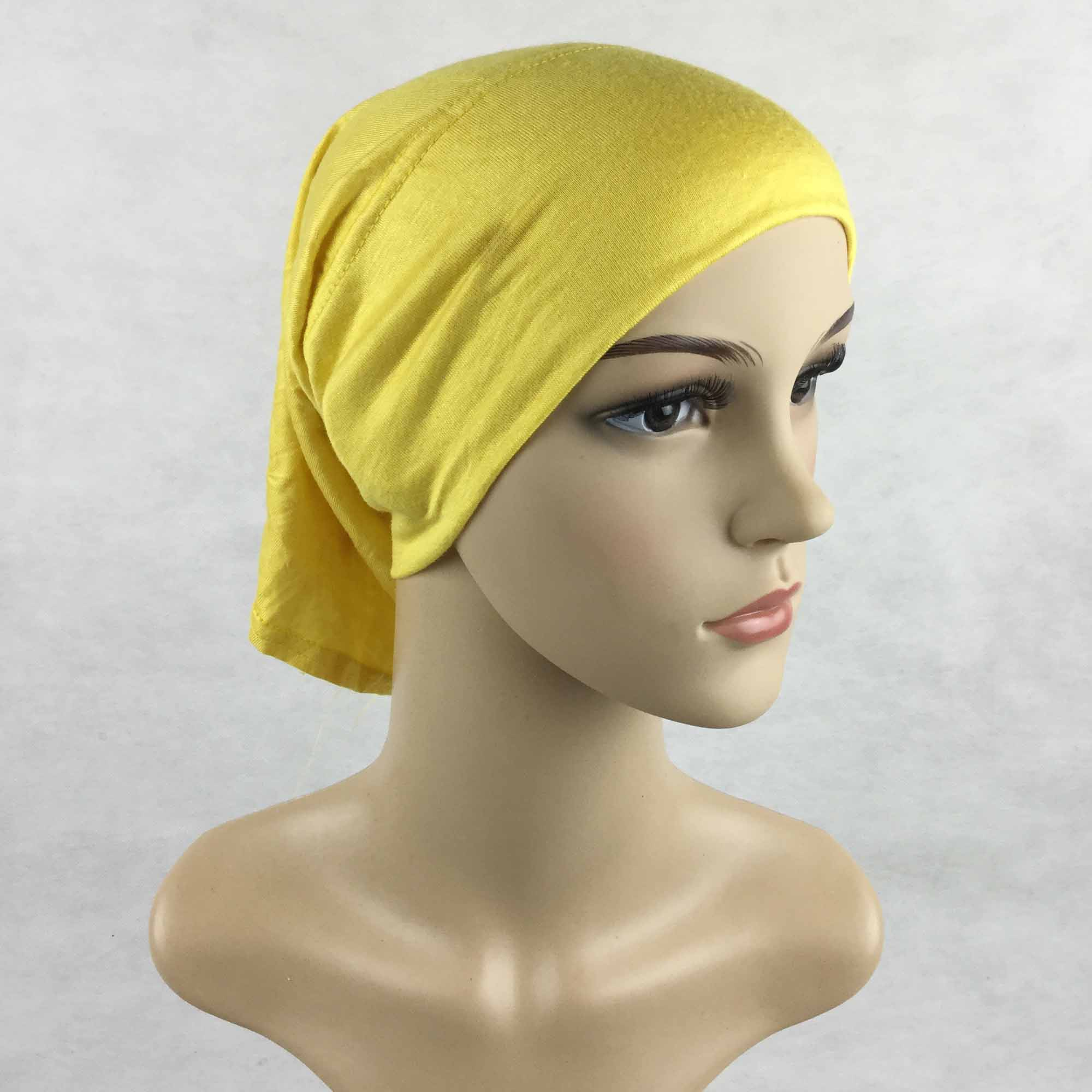 Wholesale Fashion Muslim Hijab Caps Inner Hijabs women scarf cotton jersey hats Islam Bonnet Cap