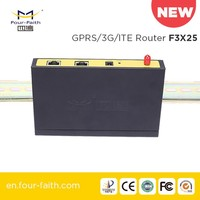 F3325 edge router with Quad-band GSM850/900/1800/1900M Hz