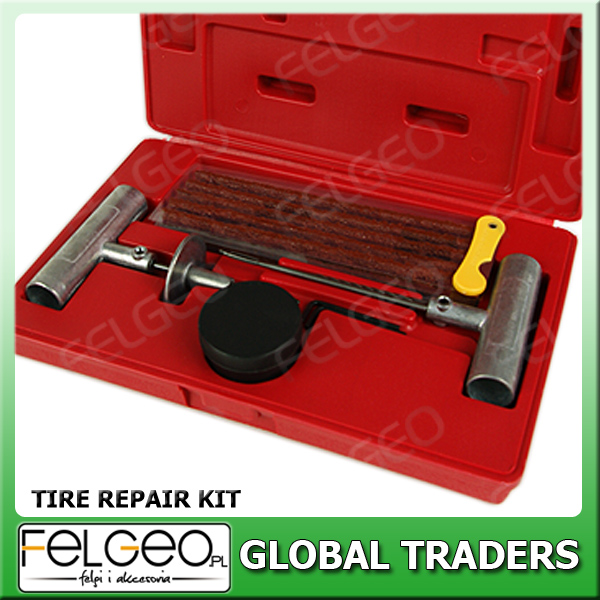 Profesional Car Auto Tubeless Tire Repair Kit Tools