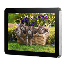 10.1 wall mounted display,digital video player,lcd advertising player