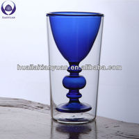 dishwasher safe colored drinking wine glass cup