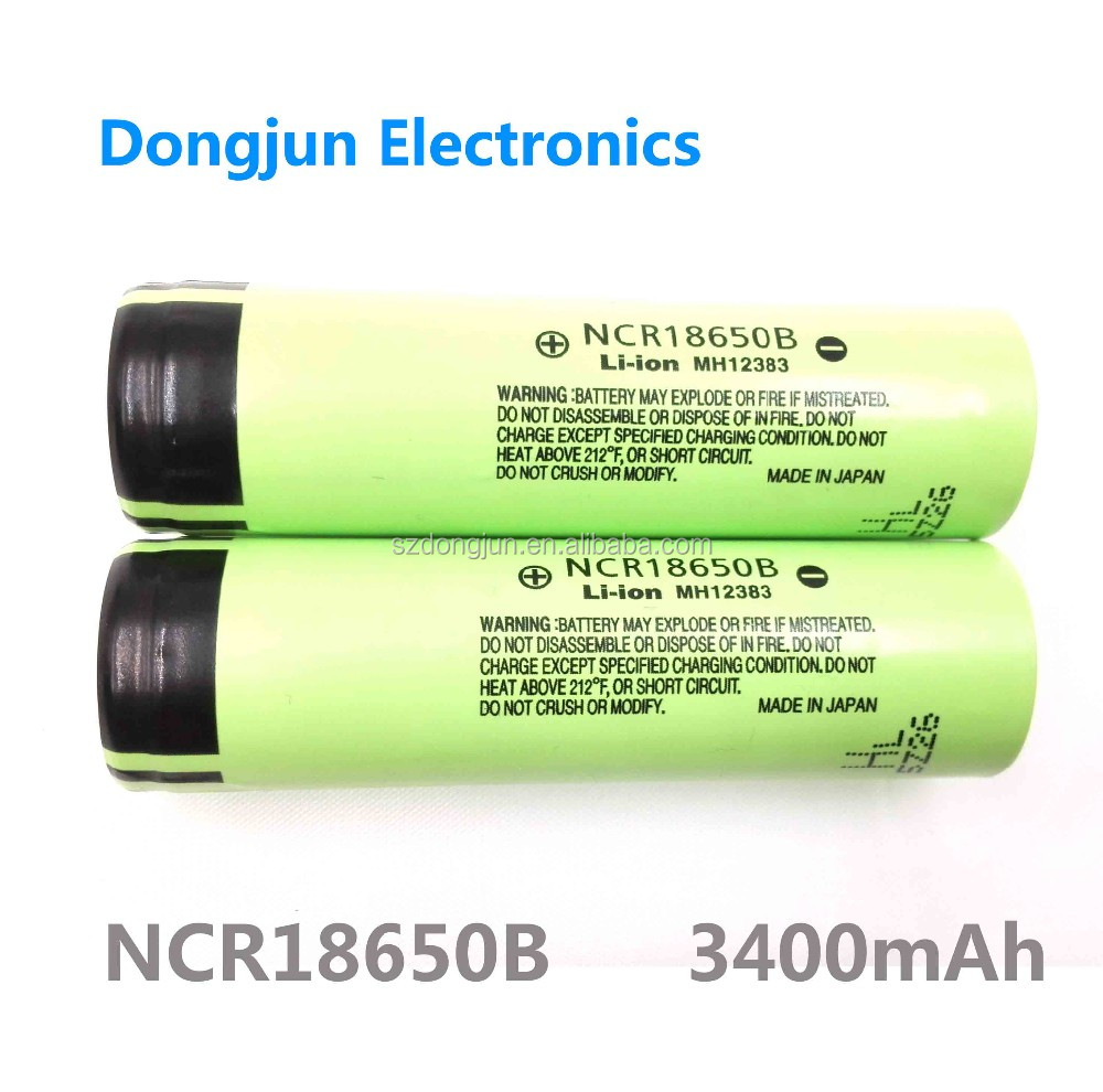 NCR18650 rechargeable Lithium battery, high capacity for flahlight