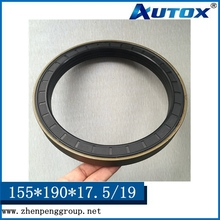 Cassette shaft oil seals 155-190-17.5/19 for heavy duty machine